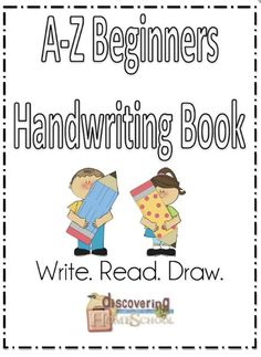 Free A-Z Beginners Handwriting Book
