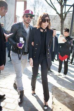 #CarineRoitfeld looking fab. Paris