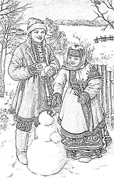 vintage linen snow men embroidery patterns quilling coloring books zen clip art templates stamps
