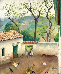 Albert Marquet (1875-1947) Le coq