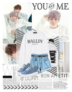 """I had already wasted my heart even before it started to burn- BTS, Danger"" by fadingcentury ❤ liked on Polyvore"