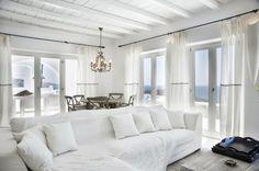 Ideas para la decoracion de salones en color blanco - Comunidad de Decoracion en Google+