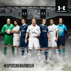 Tottenham Hotspur Under Armour 2012/13 Home and Away Kits