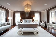 Art deco bedroom design