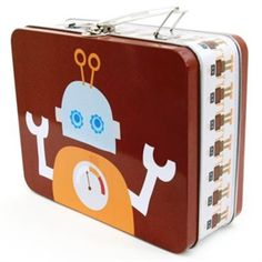 Lunch Box Robot - Scandicool - Scandinavian gifts, homewares and clothing