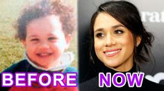 WOMAN and TIME: Meghan Markle. Before and Now