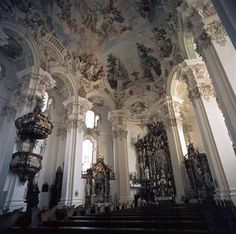 """Rococo, or """"Late Baroque"""", is an 18th-century artistic movement and style, affecting many aspects of the arts including painting, sculpture, architecture, interior design, decoration, literature, music, and theatre."""