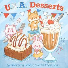 Cute Food Drawings, Cute Animal Drawings Kawaii, Kawaii Art, Cute Food Art, Cute Art, Food Cartoon, Kawaii Illustration, Cute Doodles, Cute Cartoon Wallpapers