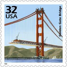Great American bridges that have appeared on postage stamps