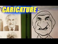 How to Draw a Caricature - Caricature Demonstration - Easy Pictures to Draw