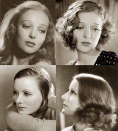 1930s Hairstyles – Face Changes | Glamourdaze                              …