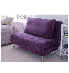 Futón Mónaco violeta 120 x 81 x 88 cm