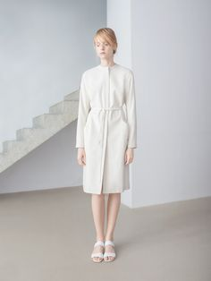 Dress Coat, THISISNON, Raw Silk Collection, photo Kasia Bielska