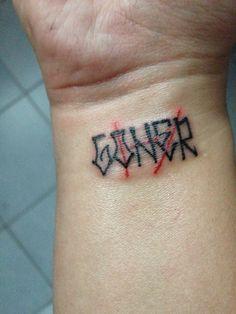 Herr Der Ringe Schrift Elbisch Middle Earth Tattoos