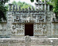 Hochob Mexico Mayan Ruin-Campeche