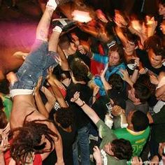 these are the days I miss #moshpit