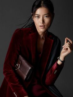 massimo dutti equestrian 2014 fall winter campaign1 Liu Wen Poses for Massimo Dutti's Equestrian Fall 2014 Campaign