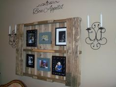 Someday Crafts: Pallet Wall Decor