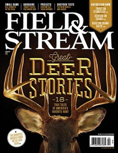 Field & Stream February 2014  Design Director: Sean Johnston Photography Director: John Toolan Photographer: Dan Saelinger Typography illustration: Jordan Metcalf