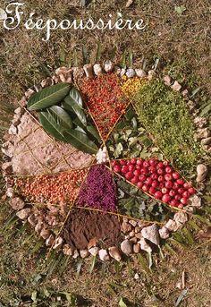 Et si on apprenait...à la maison?!: Land Art et Mandala - Fée Poussière