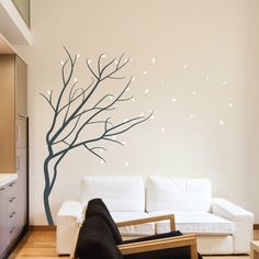 Tree wall stickers available at www.wallboss.co.uk