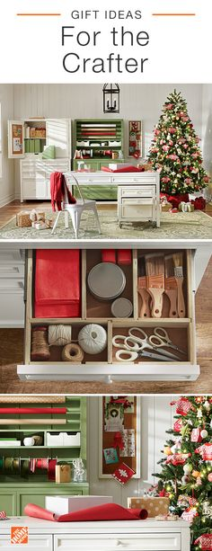 Win the holidays this year by finding the perfect gifts for everyone on your gift list. From sewing machines to crafting desks and memo boards, we have just the thing to make every crafter and maker on your list smile. Click to shop these products and more at The Home Depot.