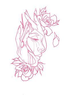 Tattoo Design Drawings, Tattoo Sleeve Designs, Art Drawings Sketches, Tattoo Sketches, Sleeve Tattoos, Tattoo Outline Drawing, Bild Tattoos, Tattoo Portfolio, Tattoo Graphic