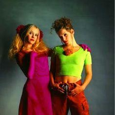 Nylon Beat promo shoot in 1996