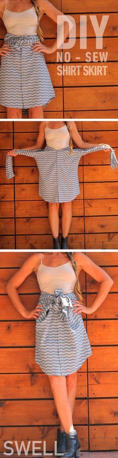 No Sew 111 Skirt