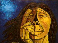 despedida      Oswaldo Guayasamín (1919-1999), ecuatoriano. Es un pintor expresionista. Su obra se introduce en los más hondo de los probl...