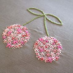 hand embroidery stitches how to Embroidery Neck Designs, Hand Embroidery Flowers, Embroidery Stitches Tutorial, Hand Work Embroidery, Embroidery On Clothes, Creative Embroidery, Simple Embroidery, Silk Ribbon Embroidery, Hand Embroidery Patterns