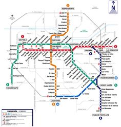 Mapa Del Subte BsAs El Subte El Metro De Buenos Aires World - Argentina subway map