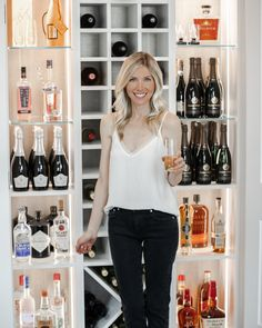 Not sure what to do with a spare closet? Why not convert it into a wine & liquor closet! Kind Bars, California Closets, Small Space Storage, Custom Closets, Closet System, Wine And Liquor, Closet Designs, Closet Storage, Design Consultant