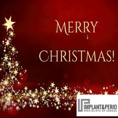 Wishing you the Happiest of Holidays. Merry Christmas from Implant & Perio Specialists of Kansas!