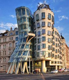 Dancing House by Frank Gehry, Czech Republic