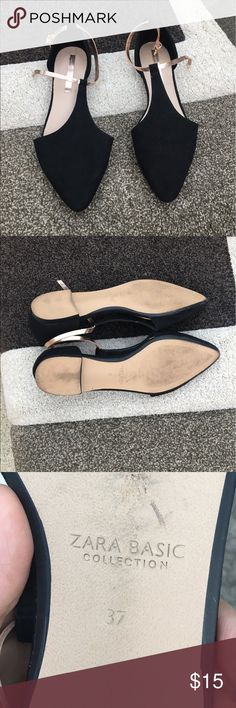 fb80a1b95147 Zara slippers for sale In good conditions! If interested make an offer Zara  Shoes Flats