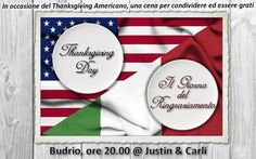 Tomorrow is Thanksgiving Day in the US, so we decided to celebrate an Italian version with a family bring&share meal. Join us in praying that it will be a great Gospel opportunity to celebrate the goodness of our Lord and to share the many reasons we have to be thankful to God this year!