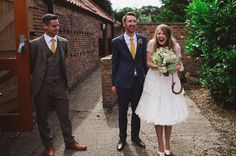 Lighthearted English Barn Wedding: Emma + Mike