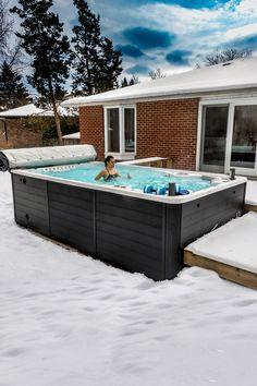 120 Swim Spa Install Ideas In 2021 Swim Spa Pool Hot Tub Spa