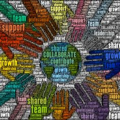 The Web is one of the best examples of collaboration, in my opinion. There are so many opportunities on the Web that create collaboration. Collaboration is where people share common interests & goals & work together to achieve them. Collaboration involves teamwork.