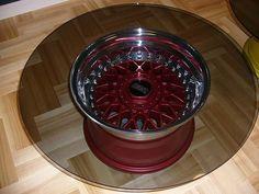 BBS rim Table | Hellaflush Projects | Pinterest | Tables, Wheels ...