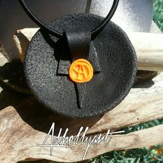 Pendant back beautifully done.  ~Polymer Clay Tutorials                                                                                                                                                                                 More
