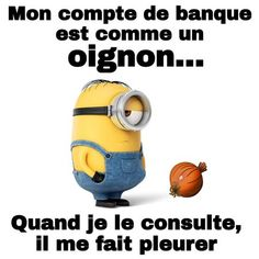 Les Minions - Expressions | textes | phrases - La Carterie Flavie Minion Humour, Funny Moments, Funny Quotes, Jokes, Lol, Humor, Cards, Hilarious, Funny Jokes To Tell