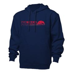 Ouray Benchmark Hood Navy/Red