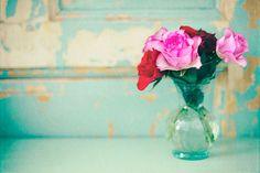 pink and aqua = a match