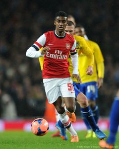 Zelalem During FA Cup Match vs Coventry 2013-2014.