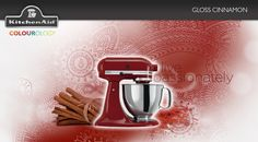 Gloss Cinnamon #KitchenAid #StandMixer