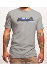 Dirtball Fashion Mountain Pewter Tee American Made