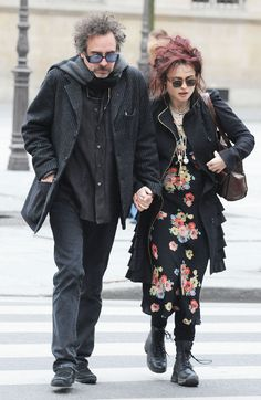 Helena Bonham Carter & Tim Burton :)