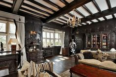 18 bedroom detached house for sale in Blythe Bridge Road, Caverswall, Staffordshire - Rightmove. Beautiful Architecture, Architecture Design, Tudor Decor, Billards Room, Mad About The House, Shops, Unusual Homes, Stoke On Trent, Gothic House